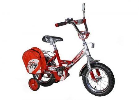 """Велосипед Amigo Pioner 14"""" красный"""