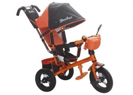 Велосипед Brabus Brabus Trike черно - оранжевый