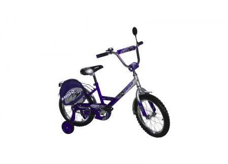 """Велосипед Amigo Pioner 14"""" синий"""