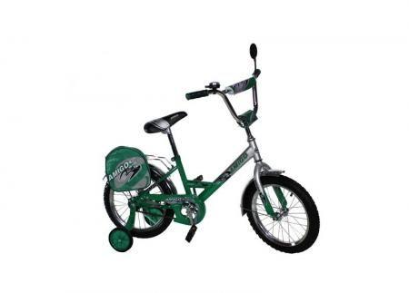 "Велосипед Amigo Pionero 16"" зелёный"