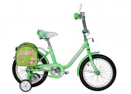 """Велосипед Amigo Bella 16"""" искристо зелёный"""