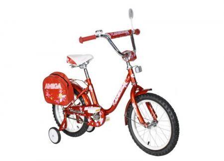 """Велосипед Amigo Bella 16"""" рубиновый"""