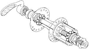 Переборка втулки колеса
