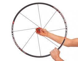 Переспицовка колеса