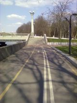 Проект строительства велодорожек в Минске