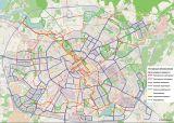Проект велодорожек на карте