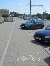 Припарковался на велодорожке