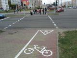 Велосипедная дорожка на Притыцкого