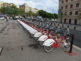 Городской велопрокат Барселоны