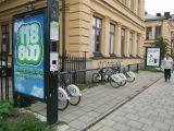 Городской прокат велосипедов в Стокгольме