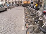 Городской прокат велосипедов в Париже
