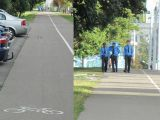 Милиция на велодорожке